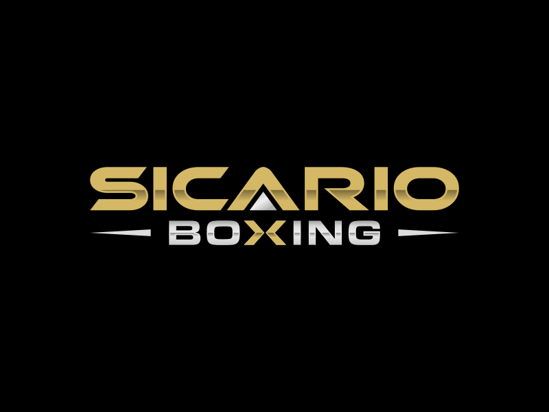Sicario Boxing logo design by Lavina