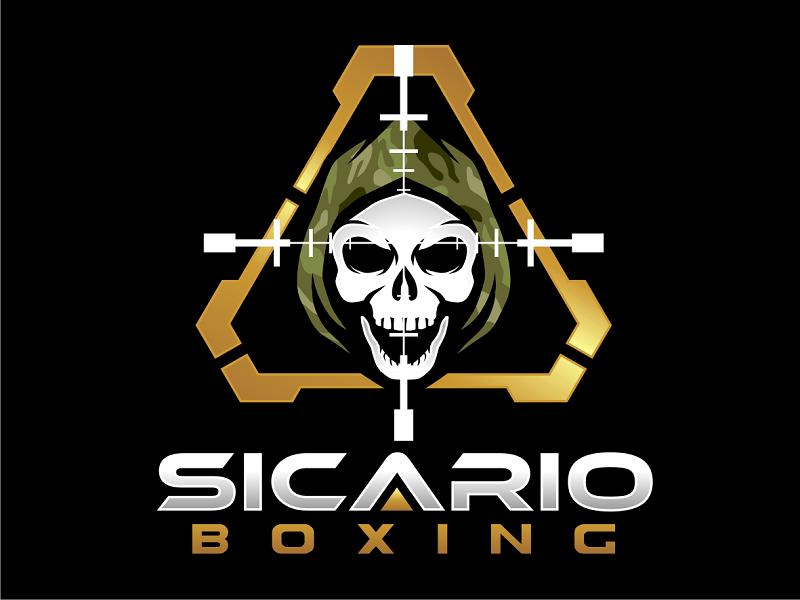 Sicario Boxing logo design by haze