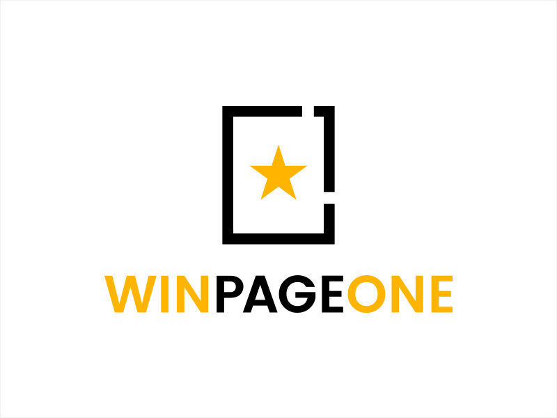 Win Page One logo design by lexipej