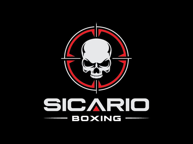 Sicario Boxing Logo Design