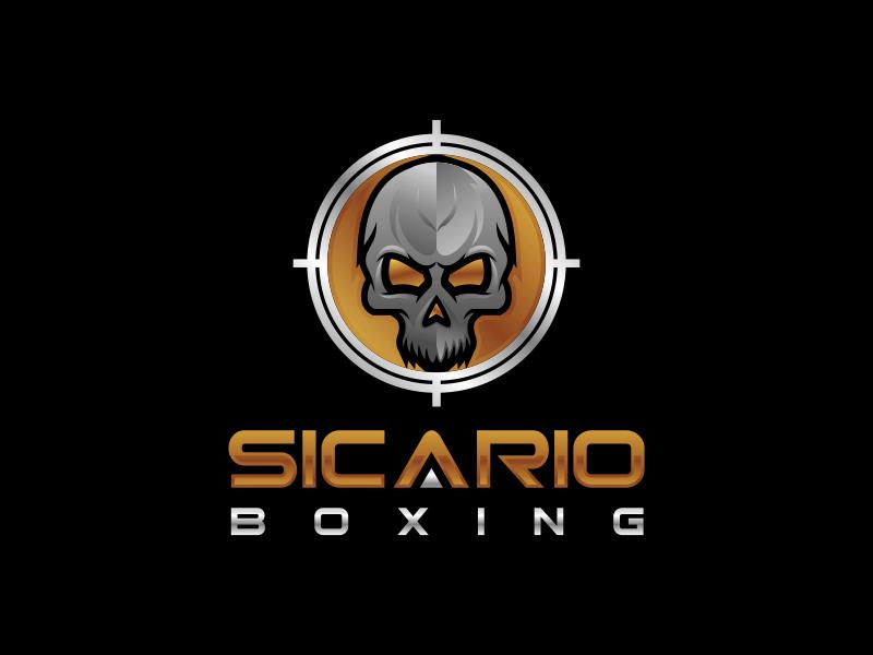 Sicario Boxing logo design by oscar_
