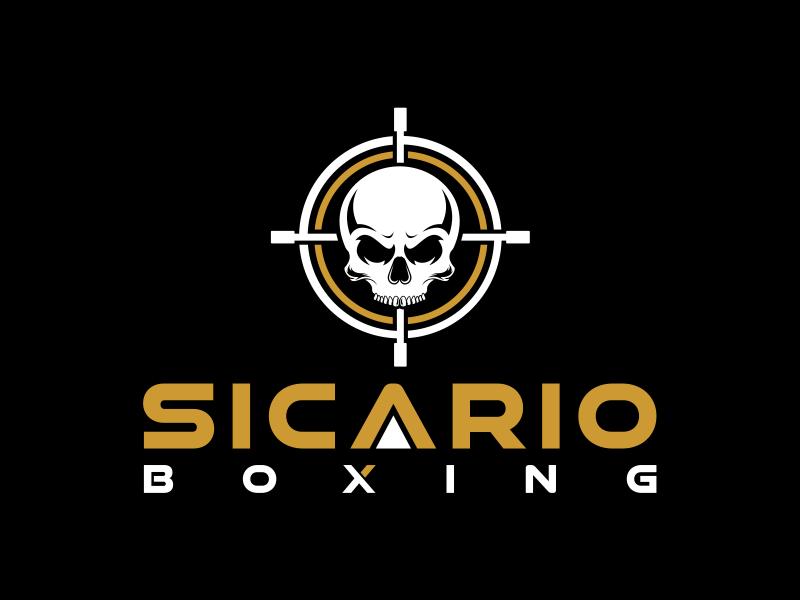 Sicario Boxing logo design by evdesign