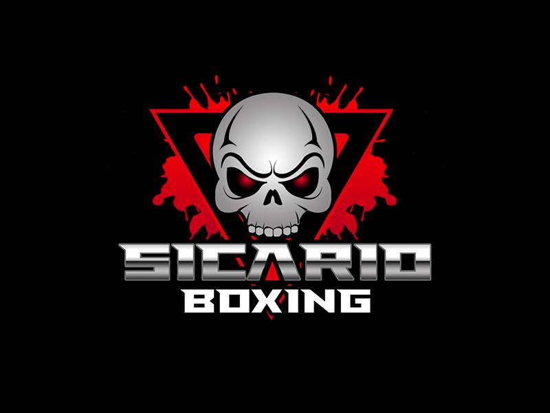 Sicario Boxing logo design by kunejo