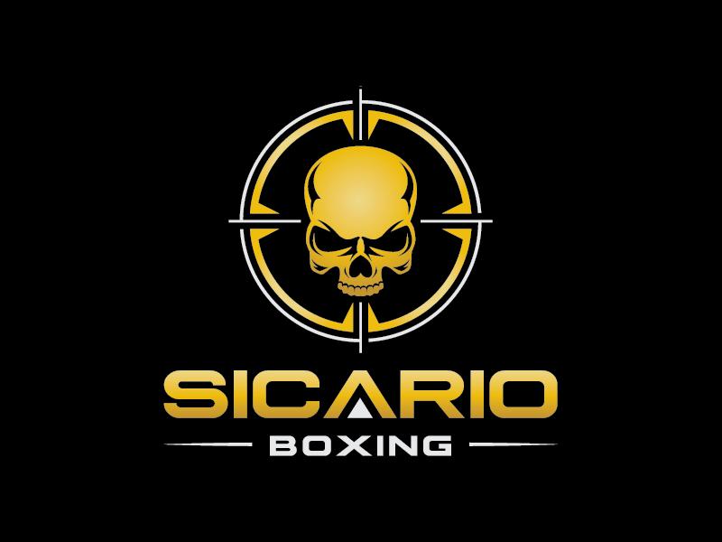 Sicario Boxing logo design by AthenaDesigns