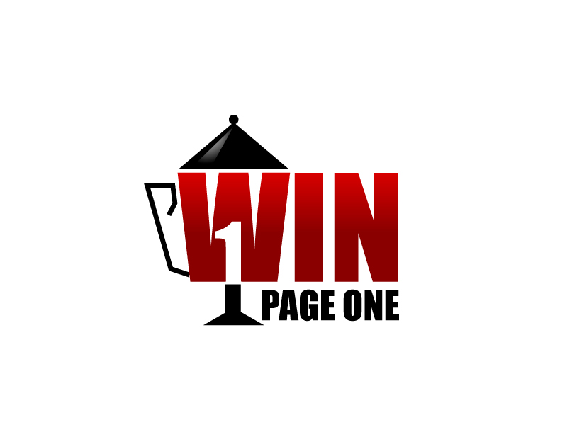 Win Page One logo design by Webphixo