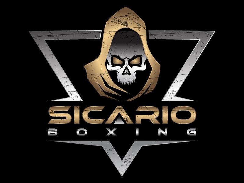 Sicario Boxing logo design by MUSANG