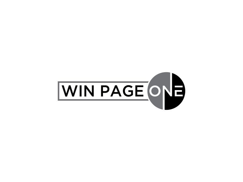 Win Page One logo design by oke2angconcept