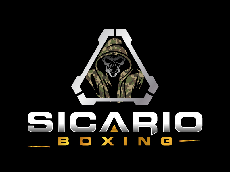Sicario Boxing logo design by jaize