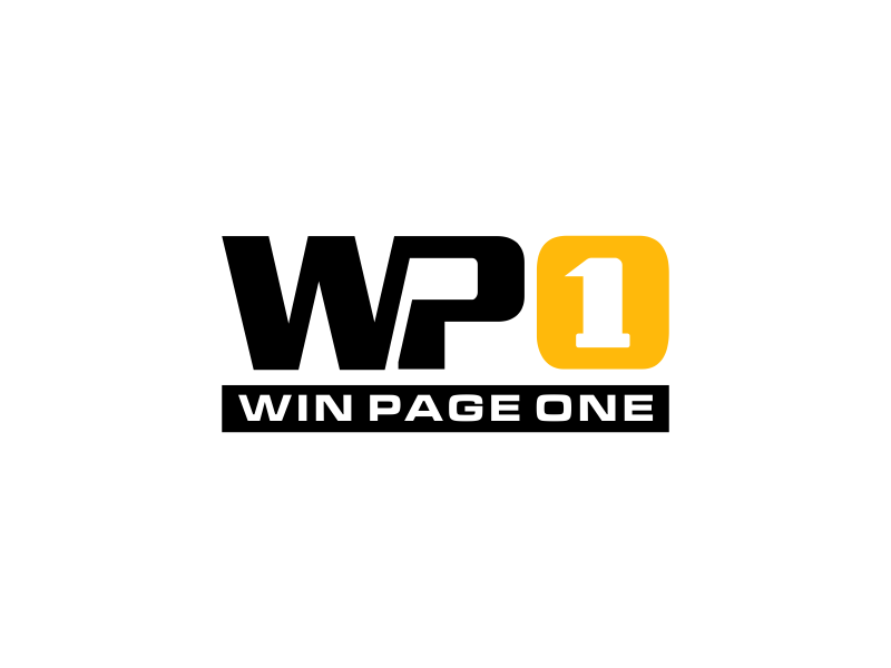 Win Page One logo design by done