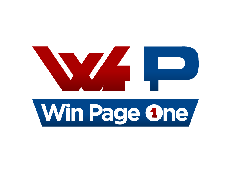 Win Page One logo design by lestatic22