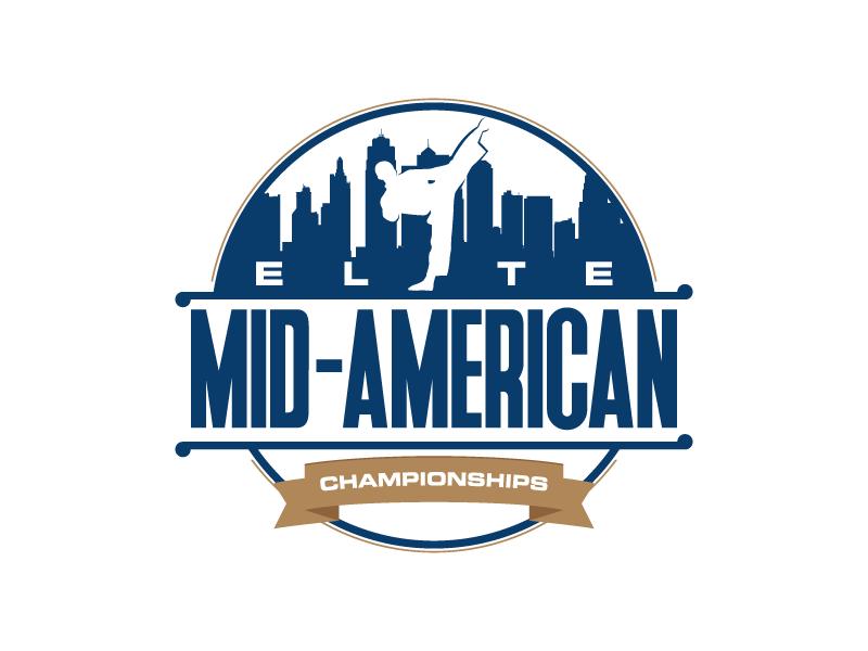 Elite Mid-American Championships Logo Design