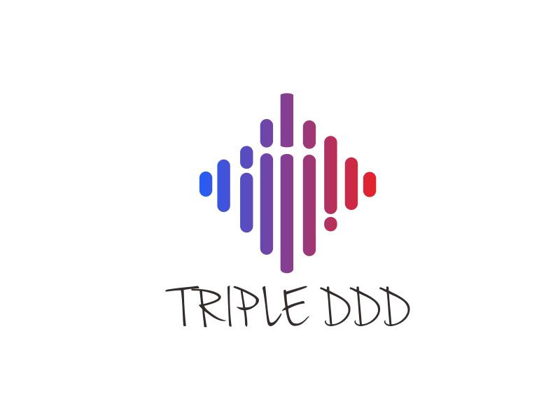 TRIPLE DDD logo design by Greenlight