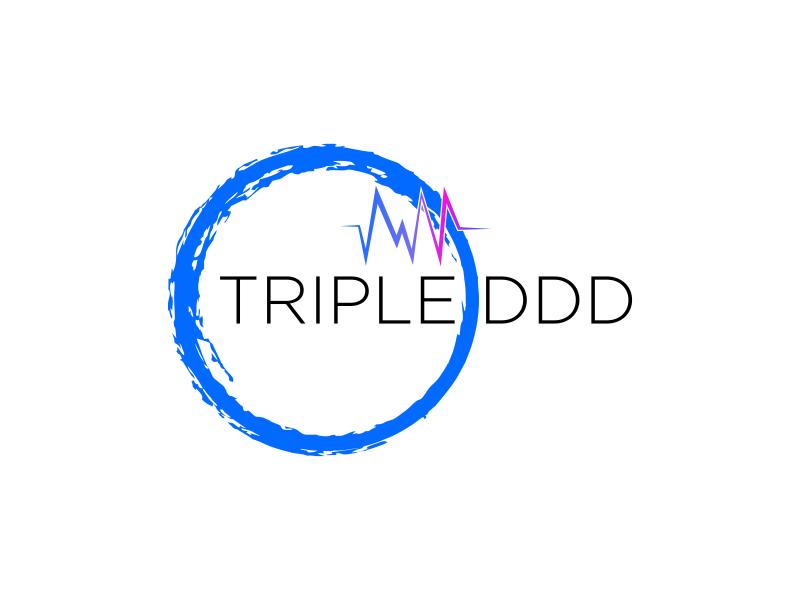 TRIPLE DDD logo design by bomie