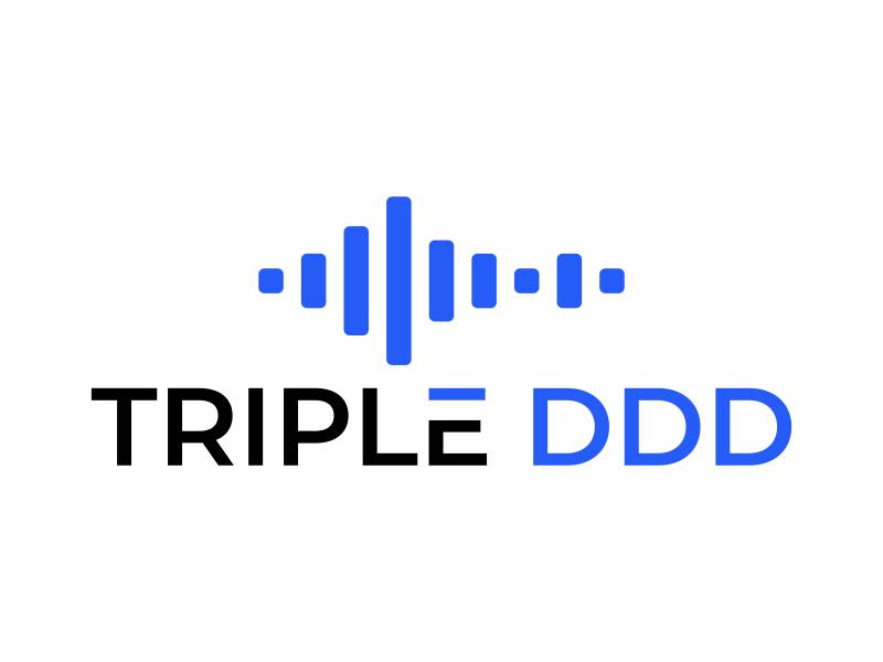 TRIPLE DDD logo design by Humhum