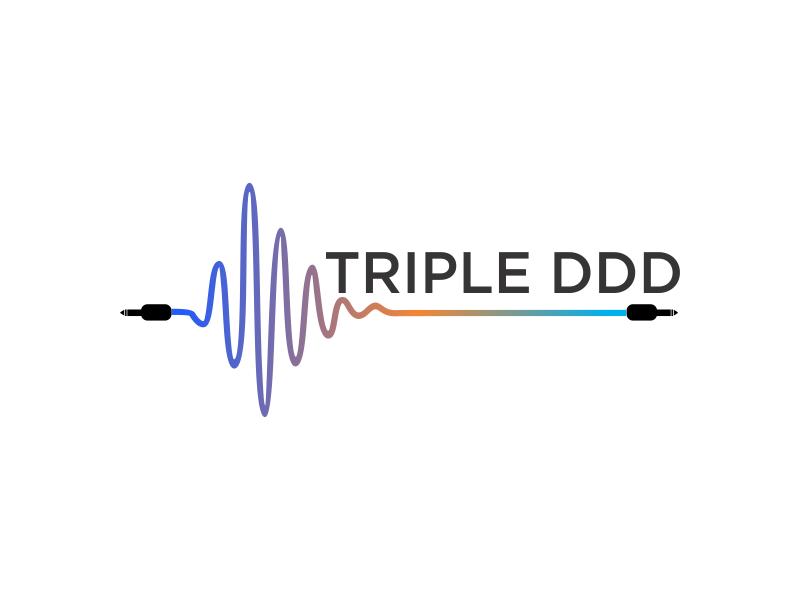 TRIPLE DDD logo design by oke2angconcept