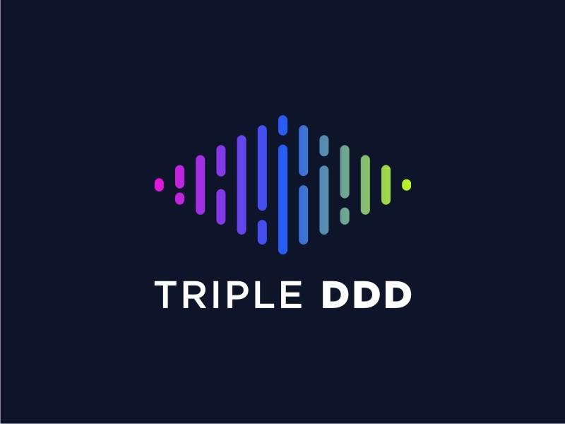 TRIPLE DDD logo design by GemahRipah