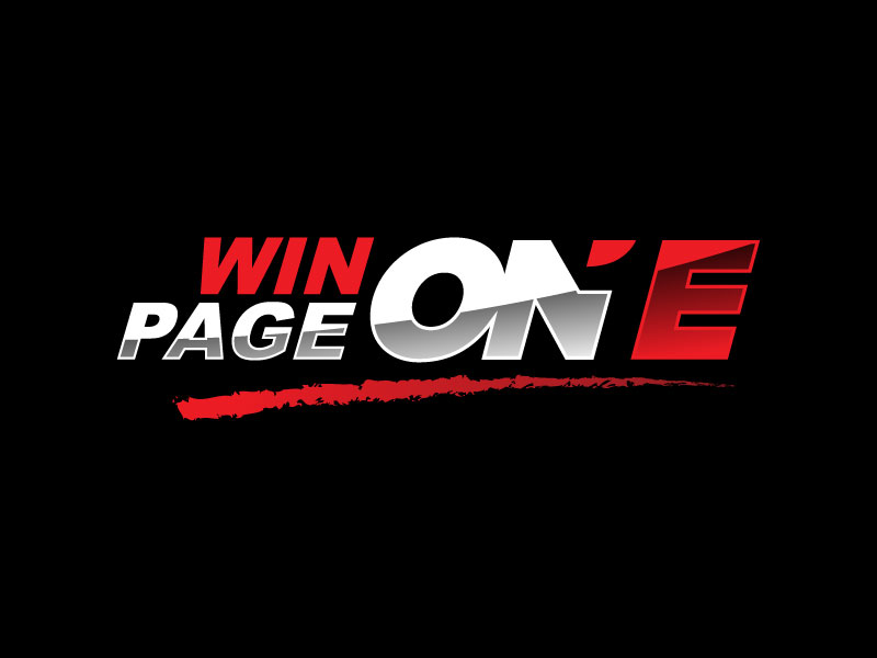 Win Page One logo design by nard_07