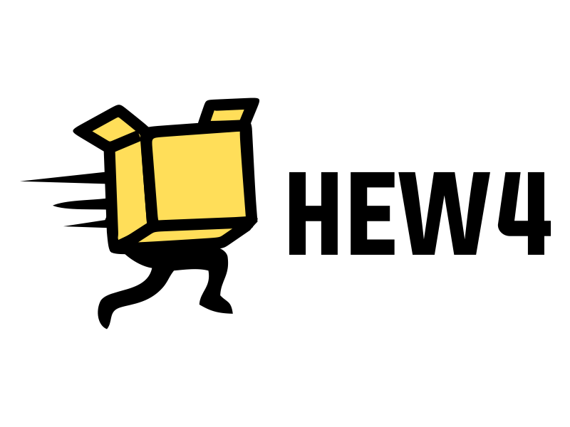 HEW4 logo design by JessicaLopes