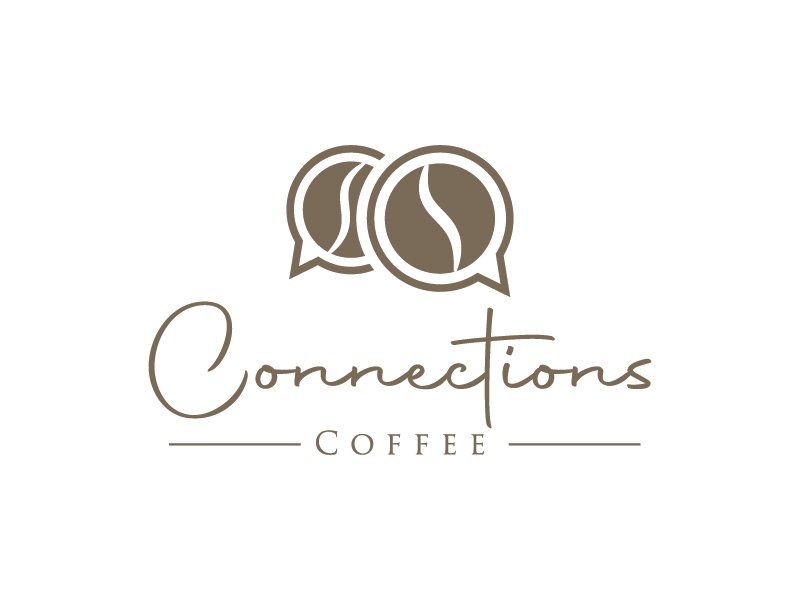 Connections Coffee logo design by gateout