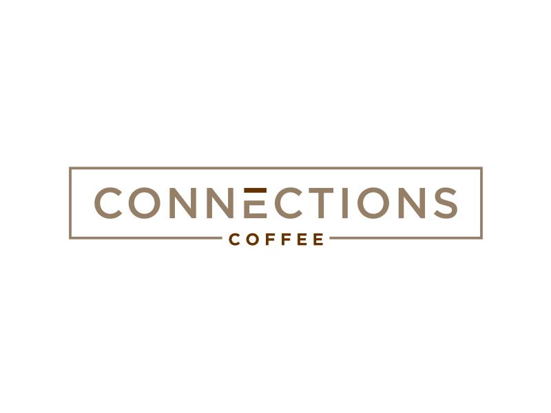 Connections Coffee logo design by Arto moro