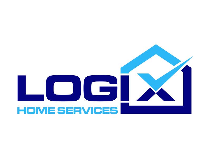 Logix Home Services Logo Design