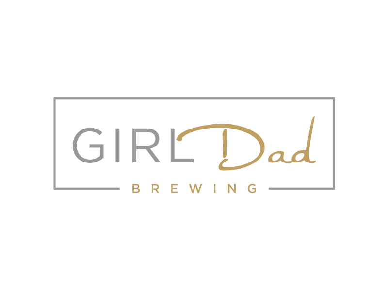Girl Dad Brewing Logo Design