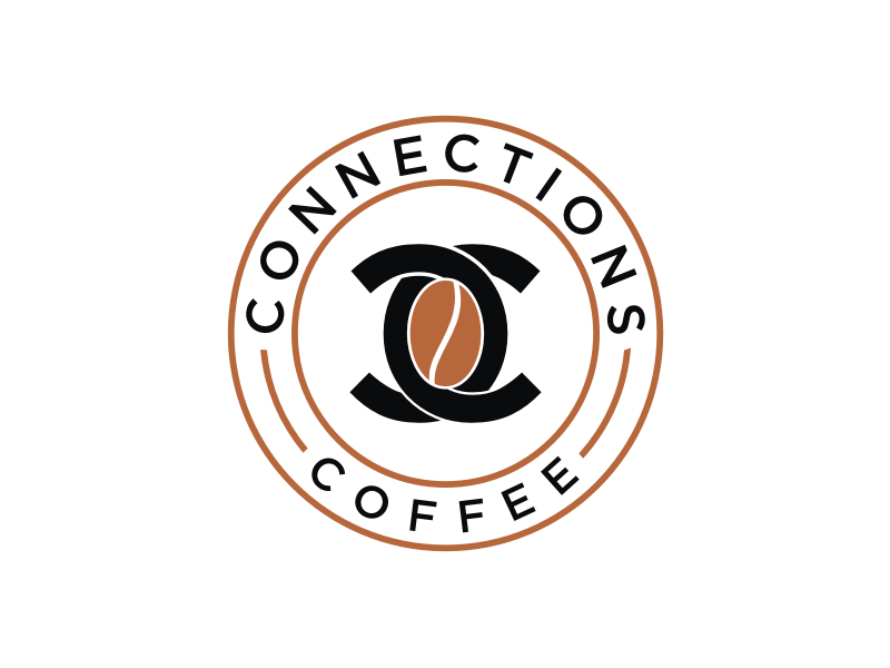 Connections Coffee logo design by ora_creative