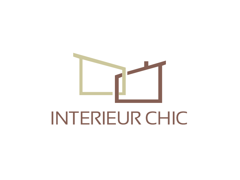 INTERIEUR CHIC logo design by kunejo