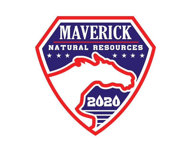 Maverick 2020 Safety Badge logo design by gogo