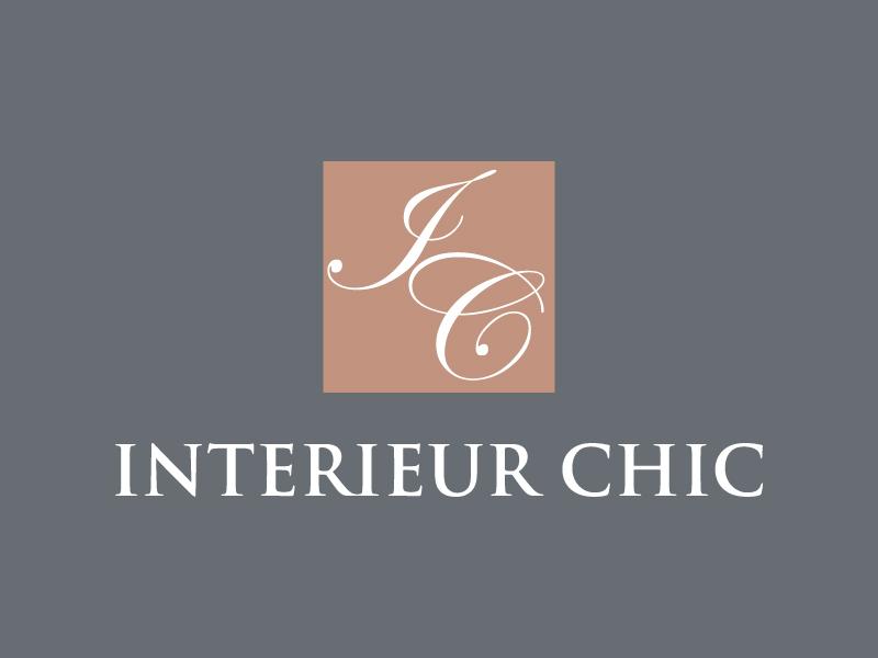 INTERIEUR CHIC logo design by jonggol