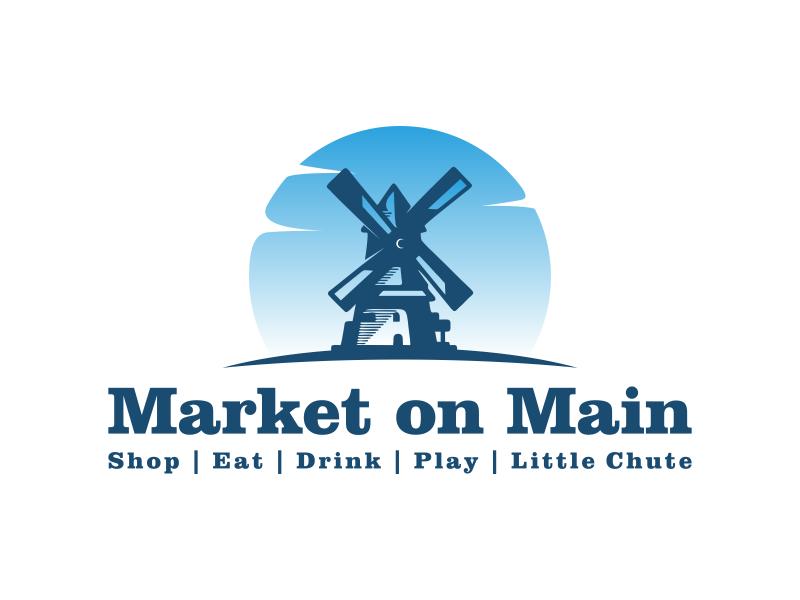 Market on Main logo design by veter