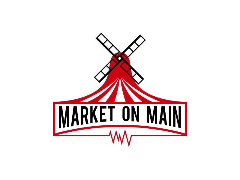 Market on Main logo design by arturo_