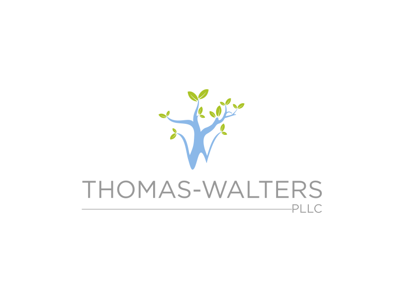 Thomas-Walters, PLLC logo design by Msinur