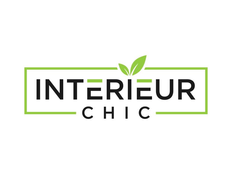 INTERIEUR CHIC logo design by mukleyRx