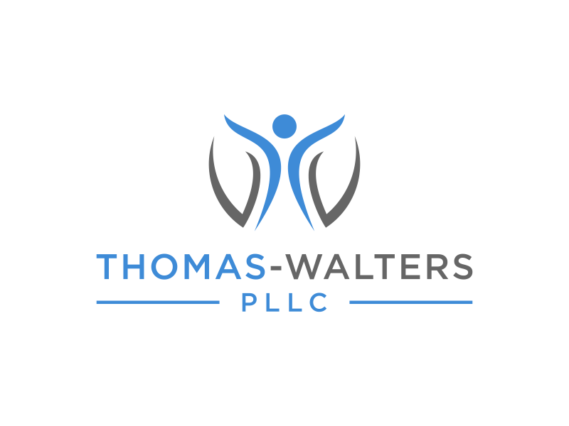 Thomas-Walters, PLLC logo design by hashirama