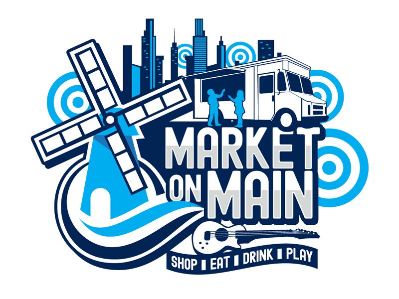Market on Main logo design by DreamLogoDesign