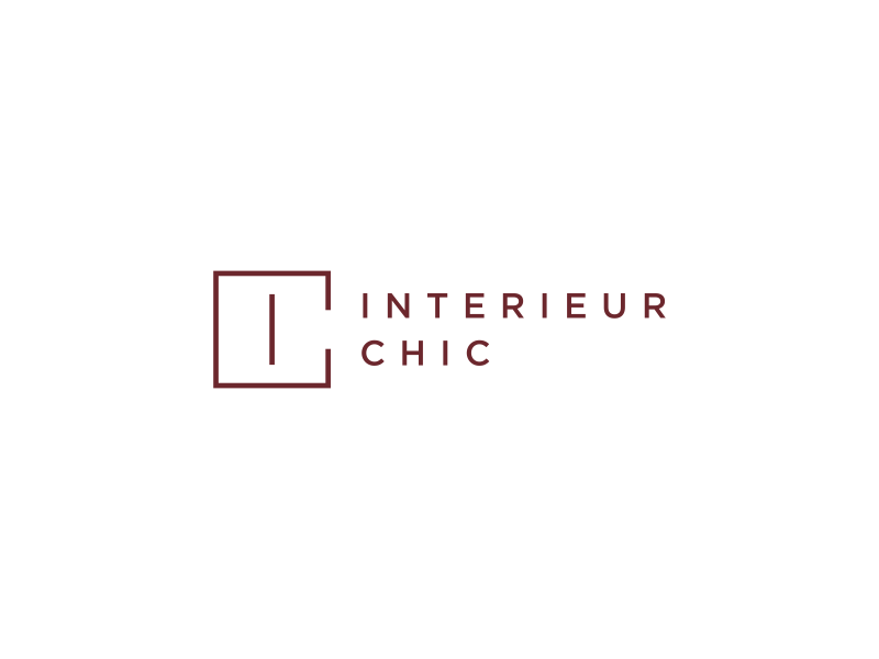 INTERIEUR CHIC logo design by dayco