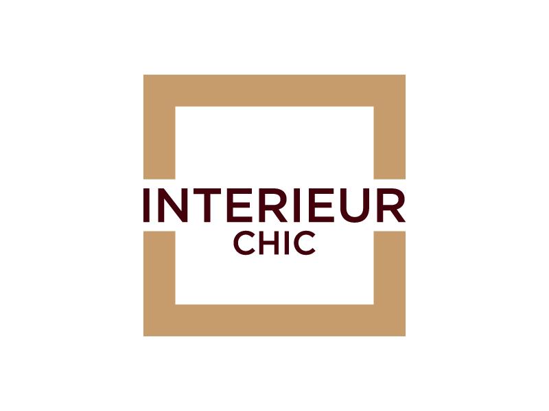 INTERIEUR CHIC logo design by denfransko