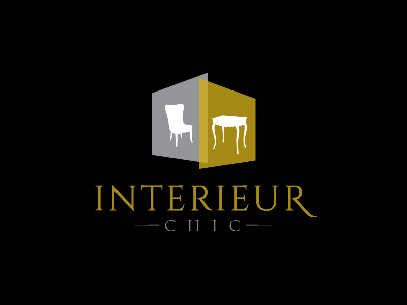 INTERIEUR CHIC logo design by usef44