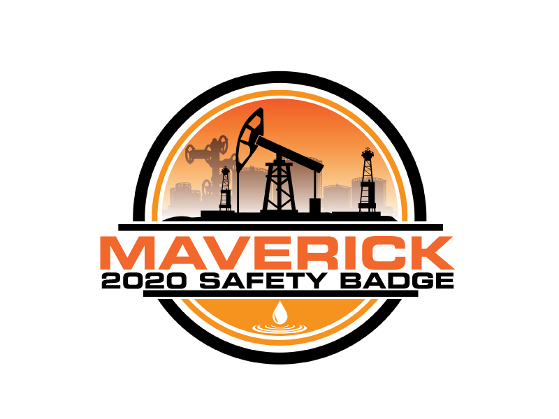 Maverick 2020 Safety Badge logo design by ElonStark