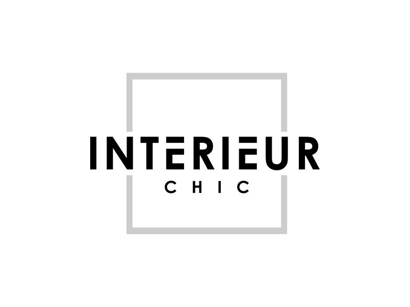 INTERIEUR CHIC logo design by mutafailan