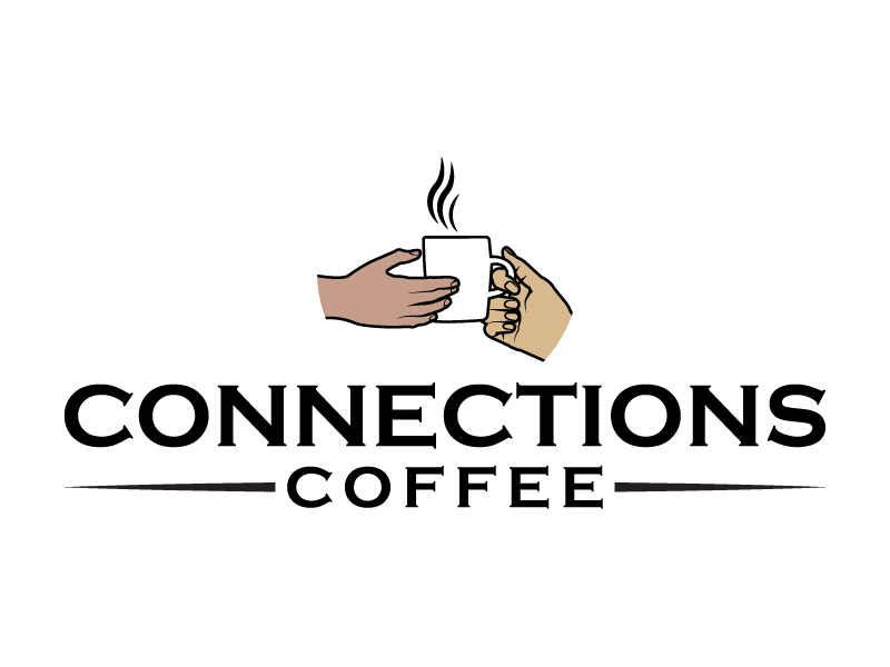 Connections Coffee logo design by karjen