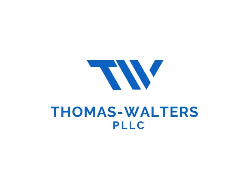 Thomas-Walters, PLLC logo design by Rexx