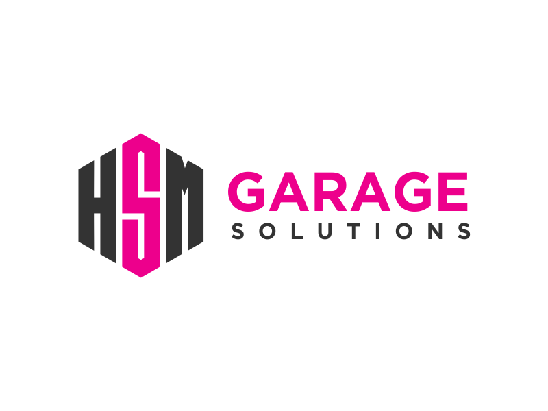 HSM Garage Solutions logo design by kopipanas