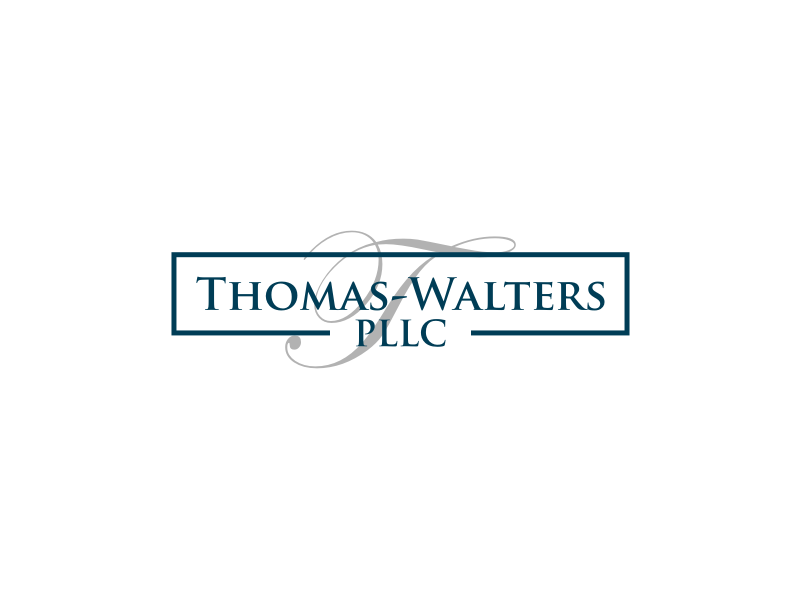 Thomas-Walters, PLLC logo design by sodimejo