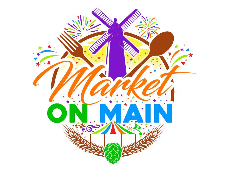 Market on Main logo design by Suvendu