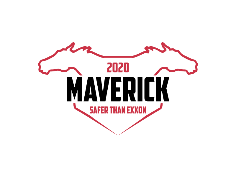 Maverick 2020 Safety Badge logo design by Republik