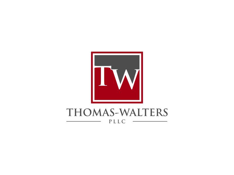 Thomas-Walters, PLLC logo design by haidar