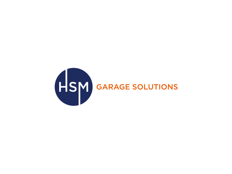 HSM Garage Solutions logo design by tejo