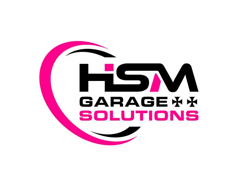 HSM Garage Solutions logo design by nard_07